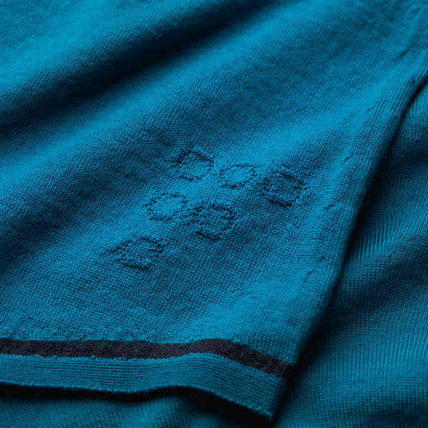 Caddon Merino Jersey - Teal by FINDRA