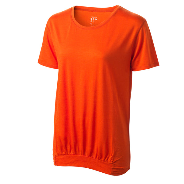 Ailsa Merino T-Shirt - Grenadine by FINDRA
