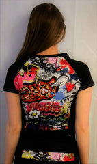 Ali Graffiti by Wicked Girl Jerseys