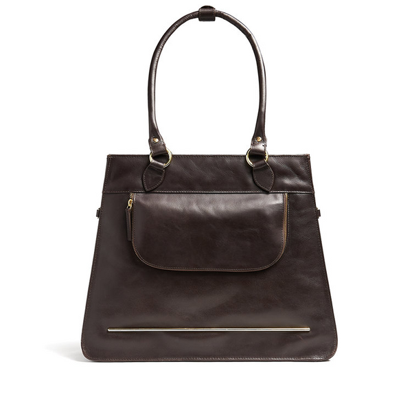 DOROTHY - Leather Handbag Bike Bag by Hills & Ellis