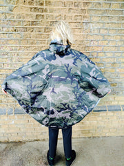Hardy Camouflage Poncho by The People's Poncho