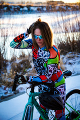 She Believed Long Sleeve Jersey by SOLIDarity Cycling