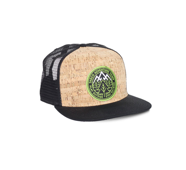 Adventure Team Cork Trucker Hat by Tasco MTB