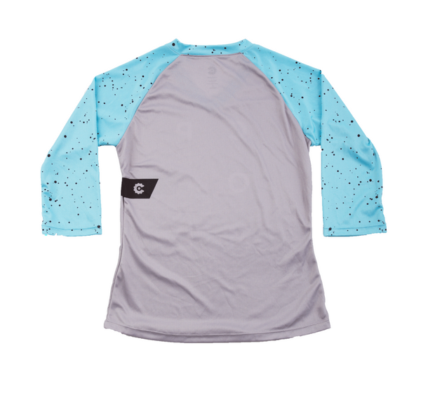 Warhol Women's Trail Jersey 3/4 Blue by Compel