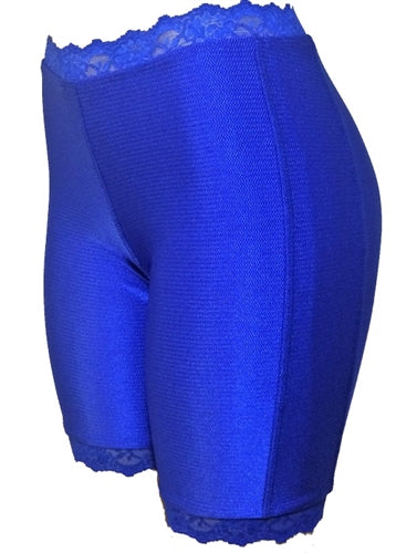 Jeweltone Bloomers - Plus Size - Shimmering Sapphire by Bikie Girl Bloomers