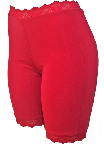 Jeweltone Bloomers - Plus Size - Romantic Ruby by Bikie Girl Bloomers
