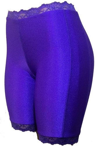 Jeweltone Bloomers - Plus Size - Dazzling Amethyst by Bikie Girl Bloomers