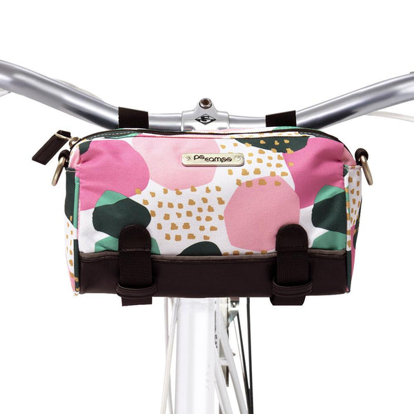 Kinga Handlebar Bag - Pebbles by Po Campo