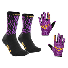 Double Digits Glove & Sock Kit - Motherboard by Tasco MTB