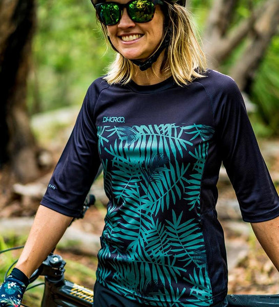 3/4 Sleeve Jersey - Camo Fern by DHaRCO