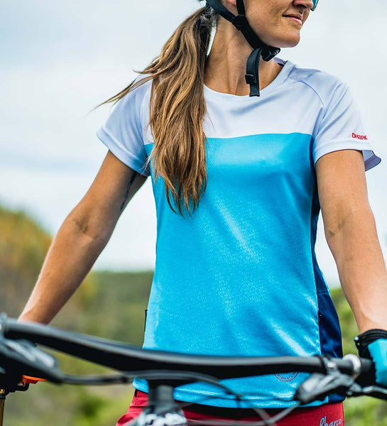 Ladies SS Jersey - Maya Blue by DHaRCO
