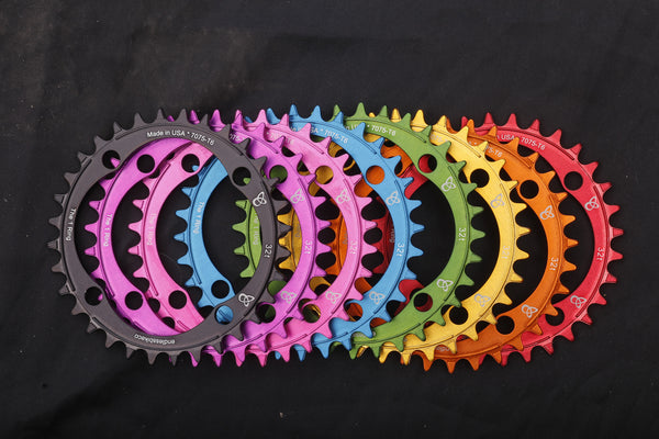 THE 1 RING (NARROW WIDE, CHAIN DROP PREVENTION CHAINRING) - by Endless Bike Company