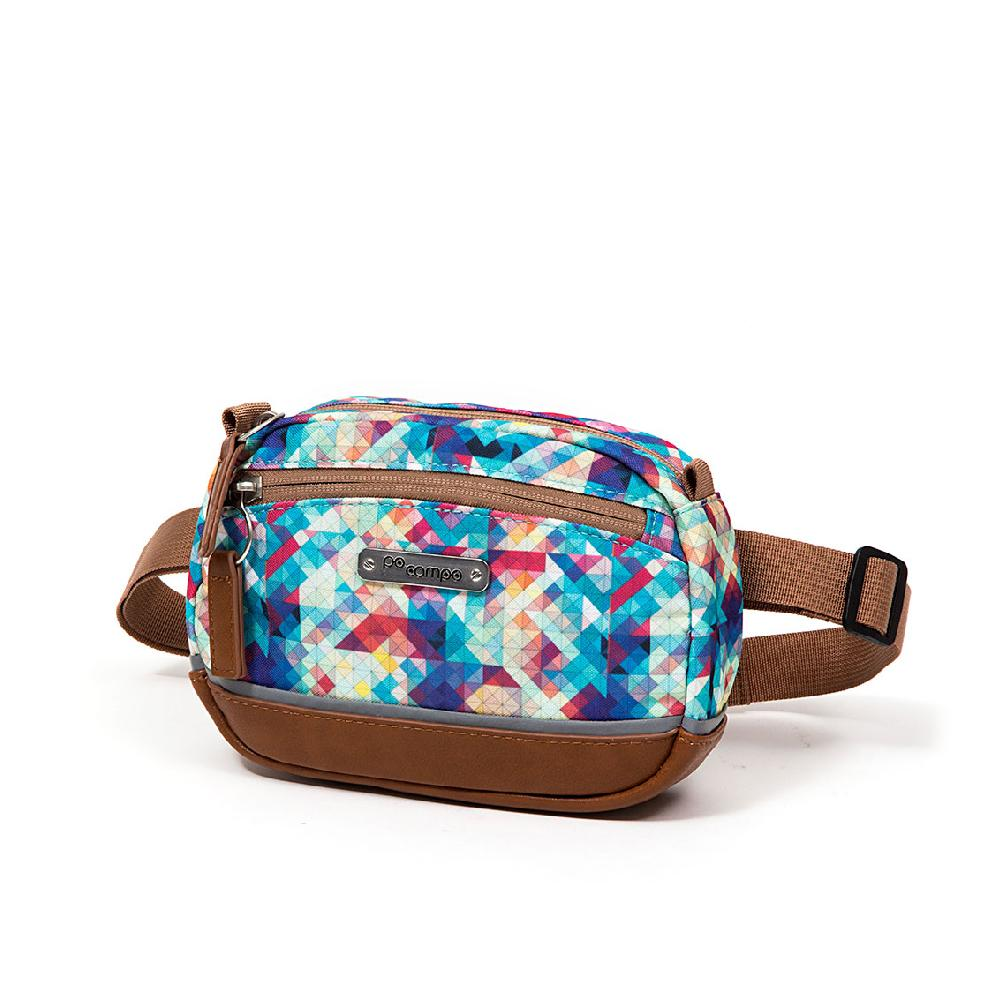 Market Belt Bag -  Mosaic by Po Campo