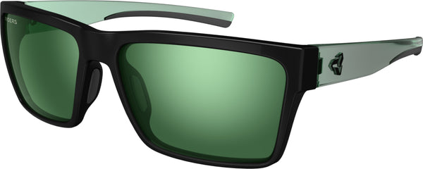 Nelson AntiFOG - Black with Green by Ryders Eyewear