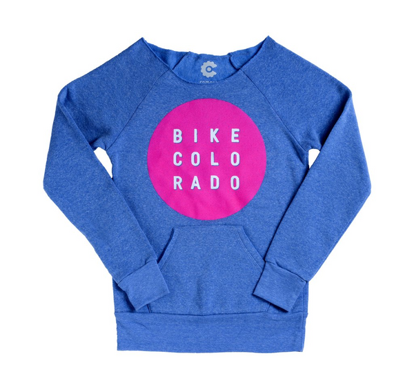 Bike Colorado Womens Sweater by Compel