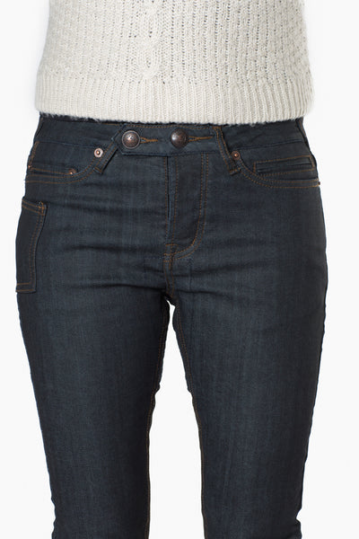 Women's Porteur Jean - Dark Indigo Denim by Osloh