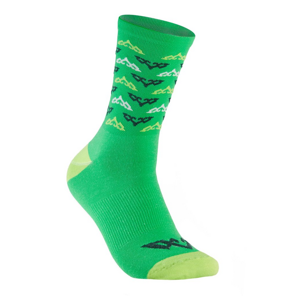 Double Digits Socks - Green Inversion by Tasco MTB