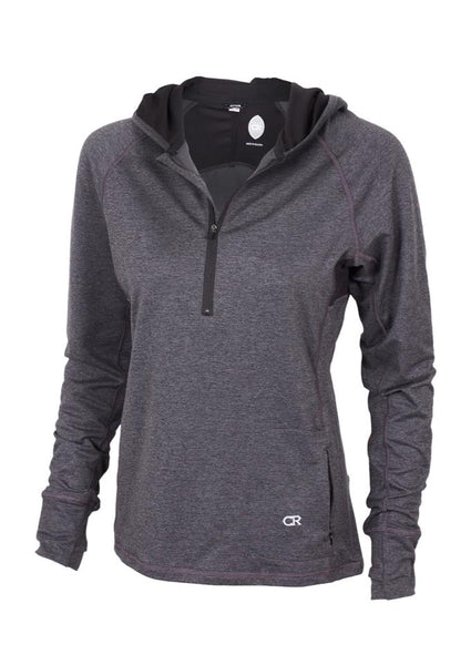 Sprint Hoody- Heather Black by Club Ride
