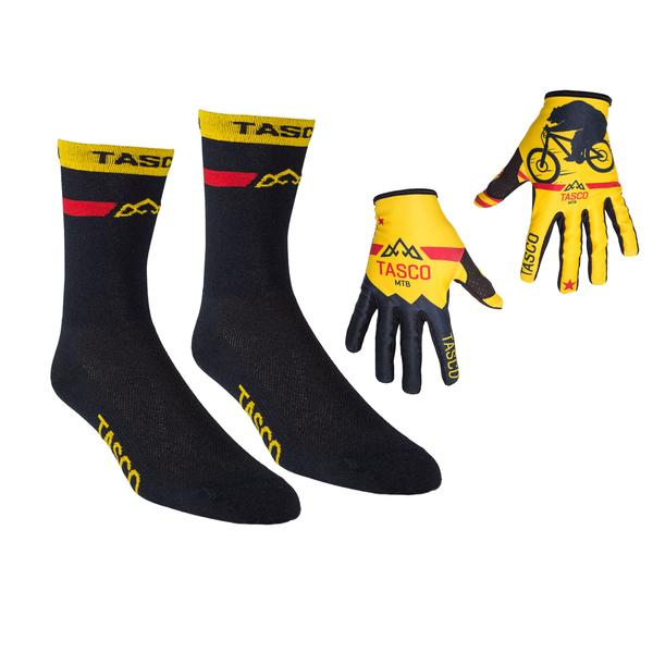 Double Digits Glove & Sock Kit - Braaap Bear by Tasco MTB