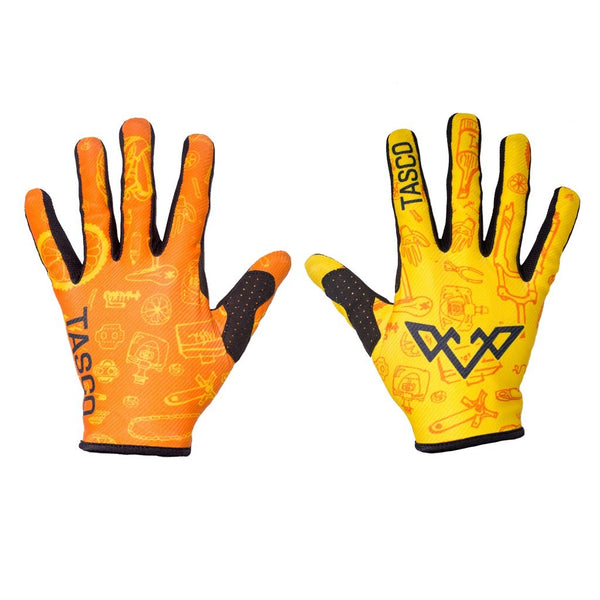 Double Digits Gloves - Orange Bike Beats by Tasco MTB