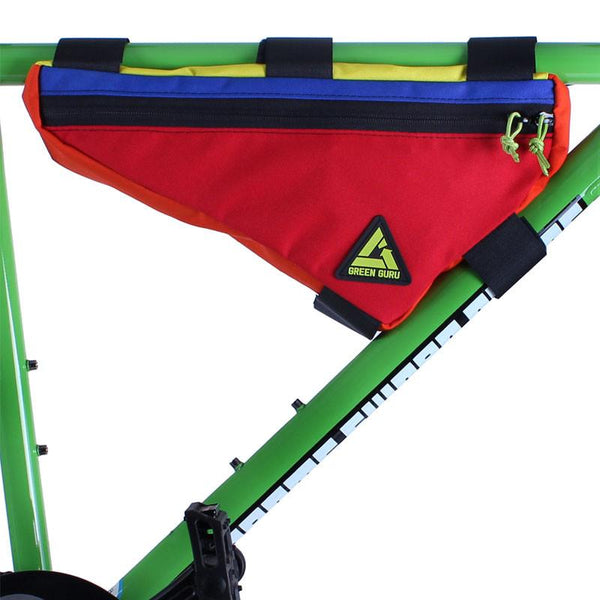 Upshift Frame Bag - Large- Multi-Color by Green Guru
