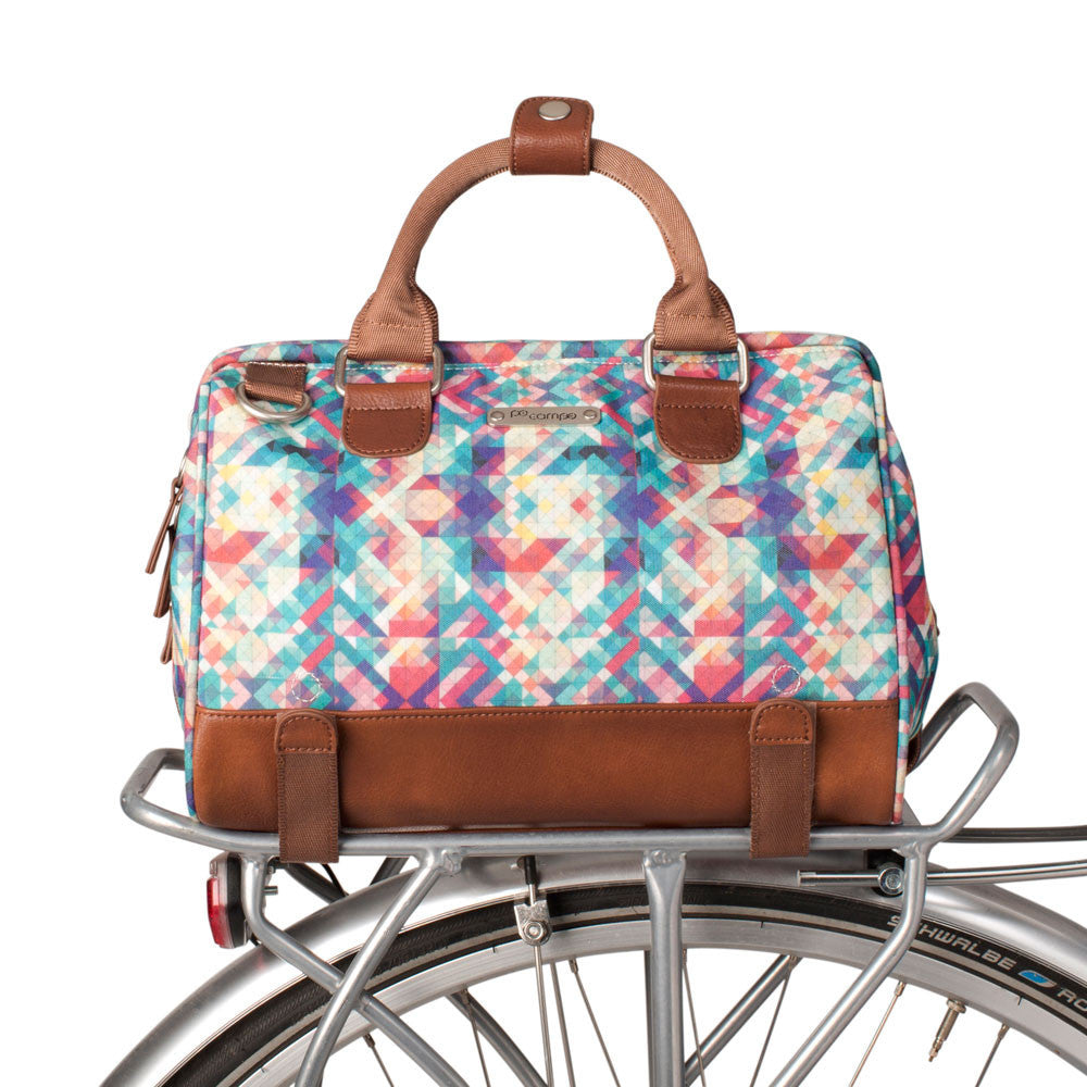 Uptown Bike Trunk Bag - Mosaic by Po Campo