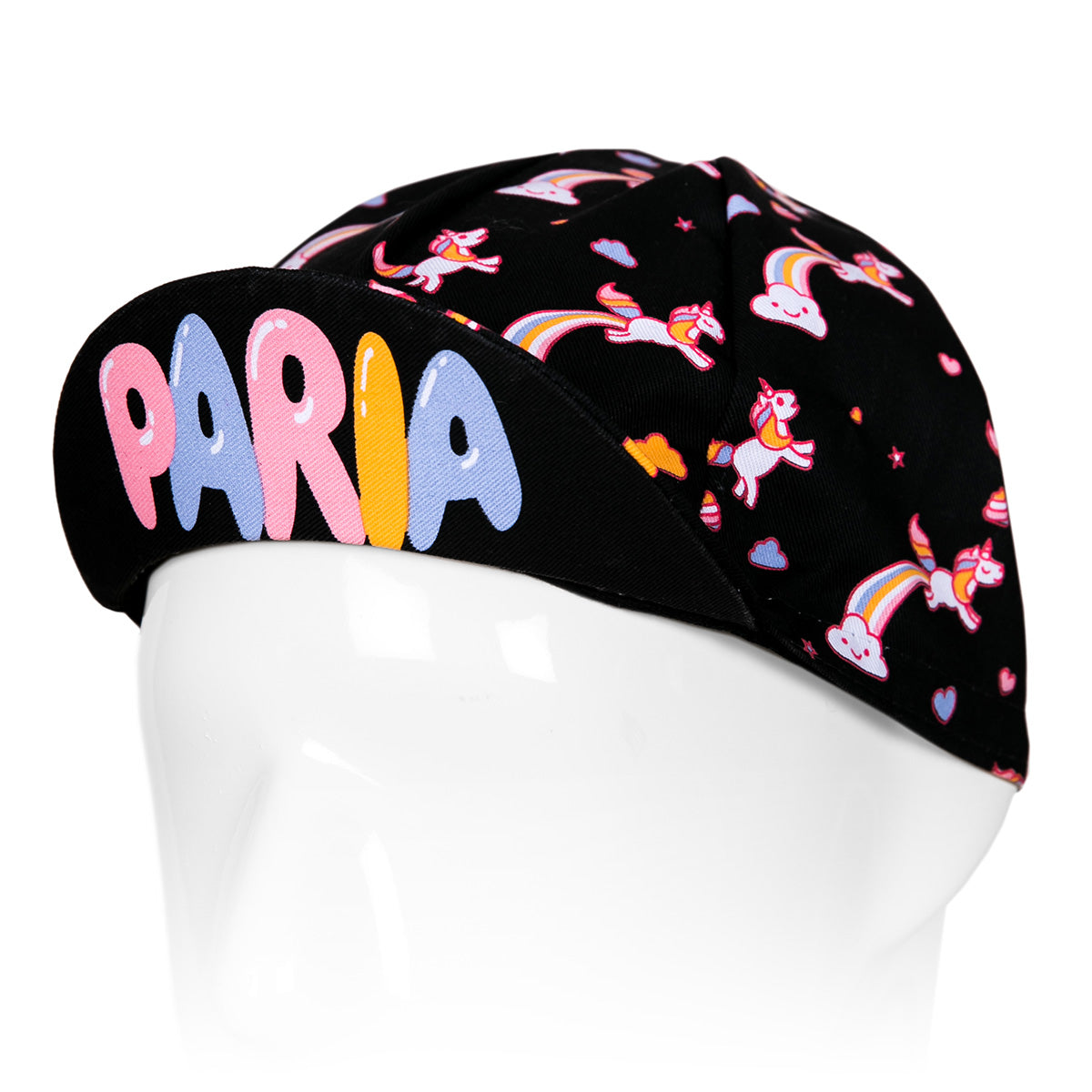 Unicorn Print Cycling Jersey + Bib + Cap Kit Bundle by Paria