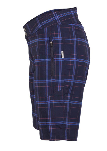 Ventura Plaid - Navy by Club Ride