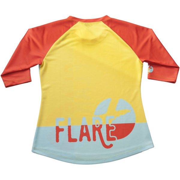 2018 Stage Jersey - Yellow/Blue by Flare Clothing