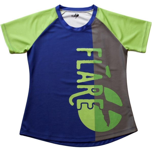2018 Solar Jersey - Blue/Gray by Flare Clothing