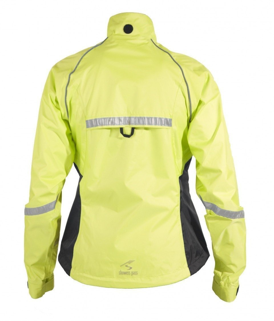 Women's Club Pro Jacket - Neon Yellow by Showers Pass