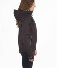 Women's Rogue Hoodie - Black by Showers Pass