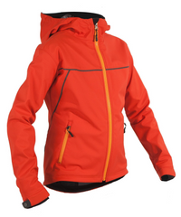 Women's Rogue Hoodie - Chili Pepper Red by Showers Pass