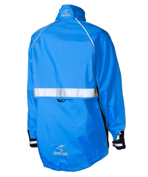 Women's Transit Jacket - Ocean Blue by Showers Pass