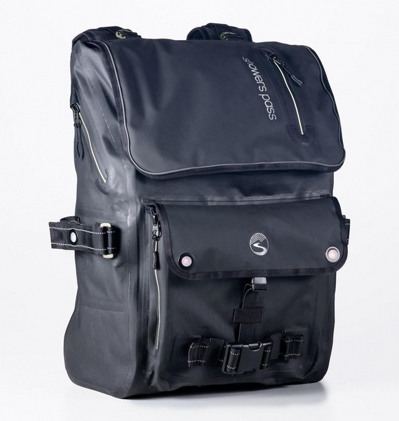 Transit Waterproof Backpack - White by Showers Pass