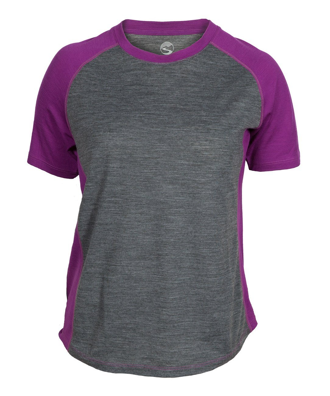 Women's Apex Merino Tech T-Shirt - Hollyhock by Showers Pass