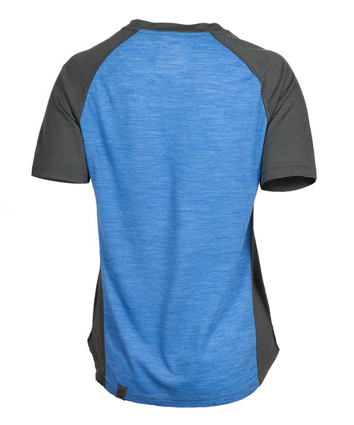 Women's Apex Merino Tech T-Shirt - Strong Blue by Showers Pass