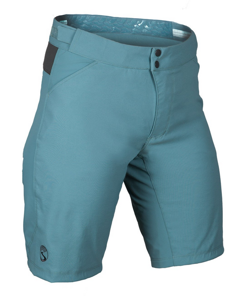 Women's Cross Country Shorts - Smoke Blue by Showers Pass