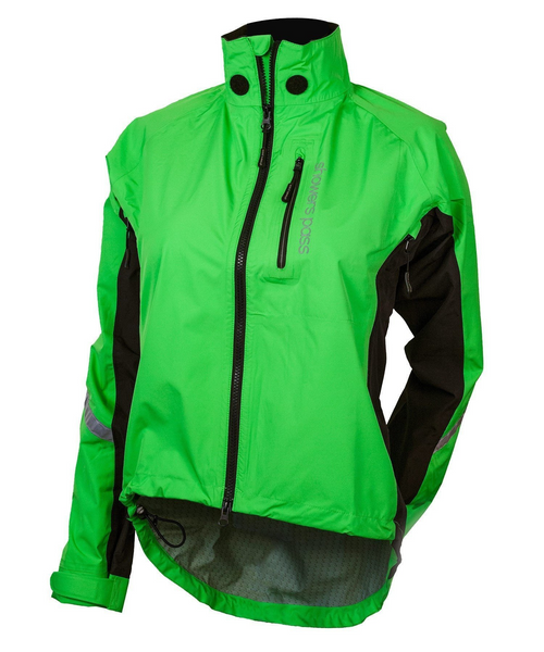 Women's Double Century RTX Cycling Jacket - Lime by Showers Pass