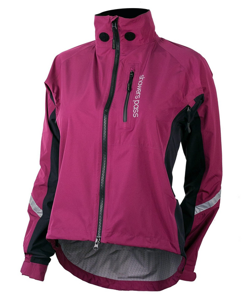 Women's Double Century RTX Cycling Jacket - Plum by Showers Pass