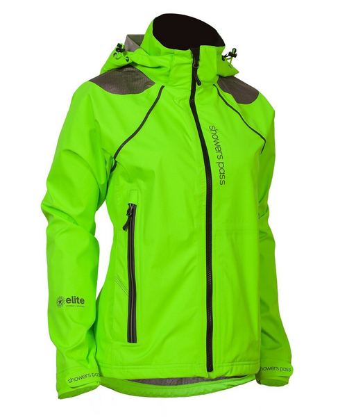 Women's Refuge Jacket - Neon Green by Showers Pass