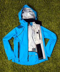 Women's Refuge Jacket - Pacific Blue by Showers Pass