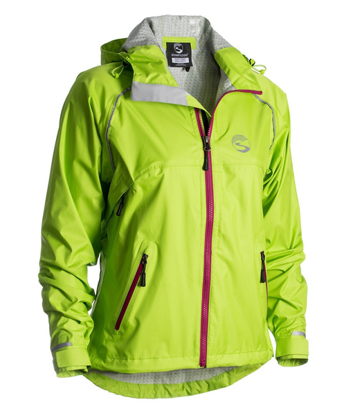 Women's Syncline Jacket - Leaf Green by Showers Pass