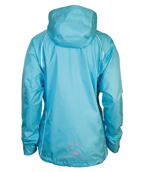 Women's Syncline Jacket - Powder Blue by Showers Pass