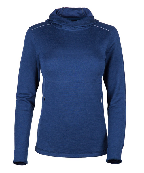 Women's Trailhead Bamboo Merino Hoodie - Navy by Showers Pass