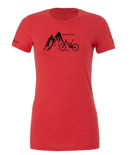 Women's Relaxed Fit My Search Engine - TribeRed by bici bits