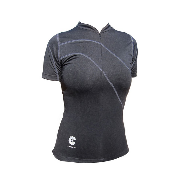 Women's Black Jersey by Compel