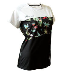 Ladies SS Jersey - Flamingo by DHaRCO