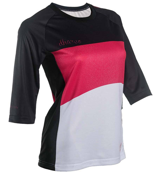 3/4 Sleeve Jersey - Ruby Black by DHaRCO