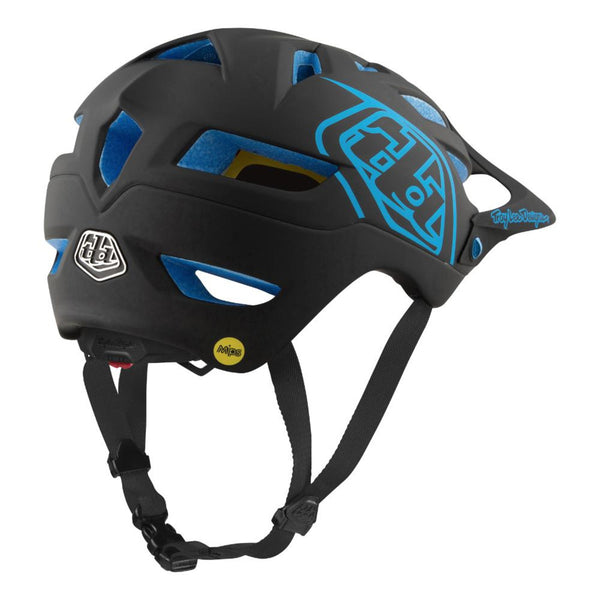 A1 Mips Helmet Classic Black/Blue by Troy Lee Designs